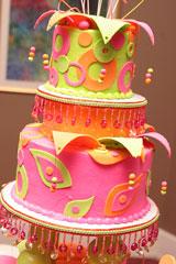 fun layer cake